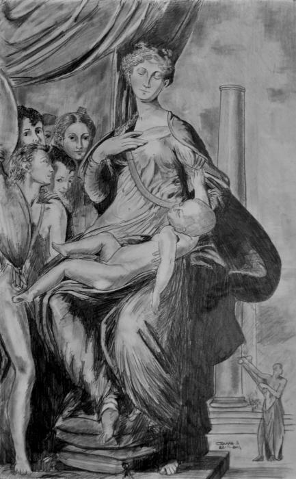 Parmigianino por sebastien.jouve